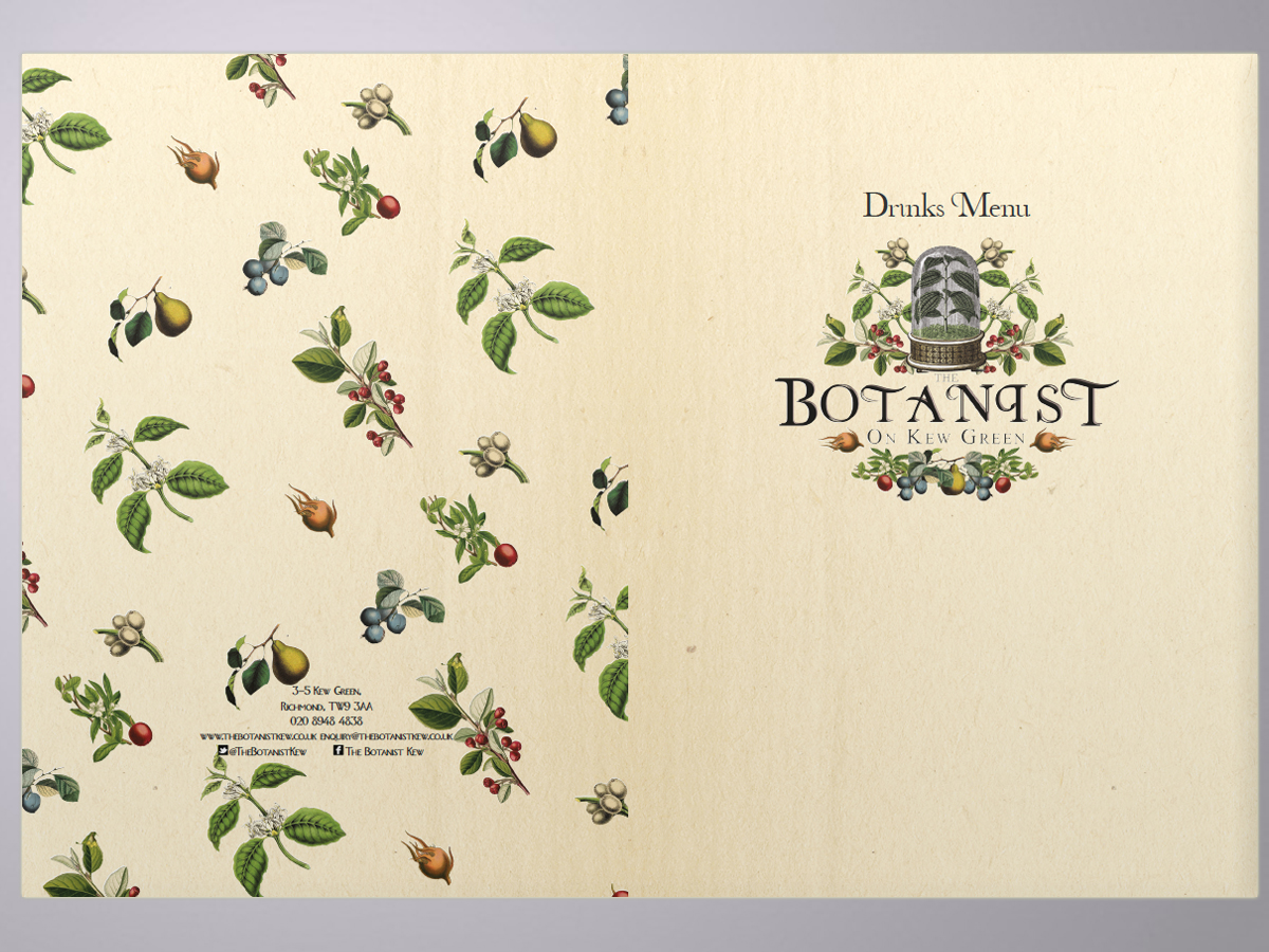 The botanist, branding and design