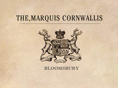 THE MARQUIS CORNWALLIS LOGO DESIGN