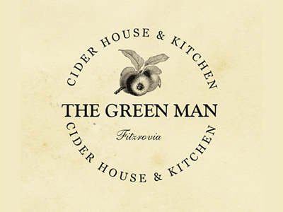THE GREEN MAN LOGO DESIGN