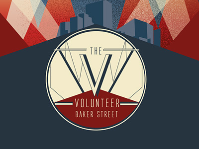 THE VOLUNTEER LOGO DESIGN